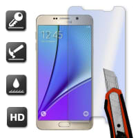 Screen protection glass for Samsung Galaxy Note 5 (Crystal clear)