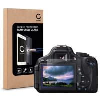 Screen protection glass for Canon EOS 600D (Crystal clear)