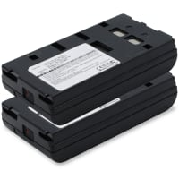 2x Batteria per Sony CCD-TR705E -TR750E -TR805 -TR55E -TR350 -TR303E -TR2000E CCD-V5000 CCD-FX270E -F355E CCD-VX3 -VX1E -V90E -V800E - NP-55 NP-98 NP-68 NP-33 NP-78 2100mAh Sostituzione Batteria Ricambio