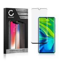 Displaybeschermglas Xiaomi Mi Note 10 / Mi Note 10 Pro (3D Full Cover, 9H, 0,33mm, Edge Glue) Tempered Glass