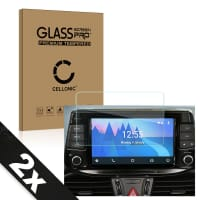 2x Screen protector glass Hyundai i30 / i30 N / i30 Kombi - 8