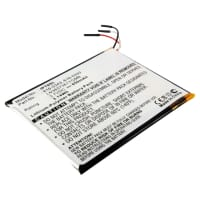 Battery for Apple iPod Touch 1 Gen. A1213 - 616-0343,616-0333,07-001-01,LN3657361YGMB,616-0341,P11G68-01-S01 (850mAh) Spare Battery Replacement