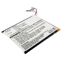 Batterie pour Apple iPod Touch 1 Gen. A1213 - 616-0343,616-0333,07-001-01,LN3657361YGMB,616-0341,P11G68-01-S01 (850mAh) Batterie Rechange