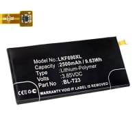 Battery for LG X Cam - BL-T23 (2500mAh) Replacement battery