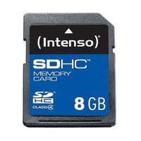 SDHC Memory Card 8GB Class 4 - Intenso