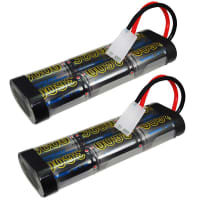 2x Battery 7.2V, 3600mAh, NiMH for iRobot Looj 130 / Looj 150 / Looj Gutter Cleaner - 11200 Spare Battery Replacement
