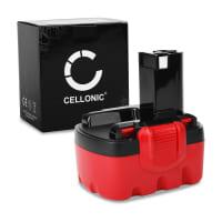 CELLONIC® 14.4V NiMH Power Tool Battery for Bosch PSR14.4, PSR 1440, ART26 Easytrim, PSR 14.4ve-2 3Ah 2607335711, BAT140, 2607335685, 2607335686, 2607335432 , Battery Replacement