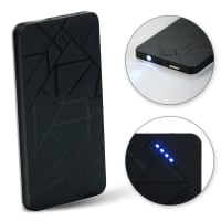 Cellonic® USB Power Bank Mini 3000mAh con luce LED indicatore di carica per Smartphone Tablet Altoparlanti Bluetooth Caricabatterie portatile Caricatore Esterno portatile Batterie Powerbank piccolo