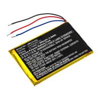 Batterie pour JBL Clip 2 Special Edition, Clip Plus - P453048D 01 800mAh Batterie de remplacement