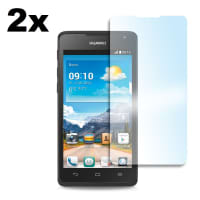 2x Screen protector for Huawei Ascend Y530 (Crystal clear)