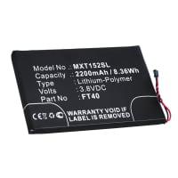 Battery for Motorola Moto E2 / Moto E 2. Generation - FT40 (2200mAh) Replacement battery