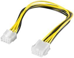 PC Stromkabel Verlängerung EPS; 8 Pin - EPS-Stecker > EPS-Buchse