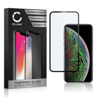Displaybeschermglas Apple iPhone Xs (3D Full Cover, 9H, 0,33mm, Full Glue) Tempered Glass