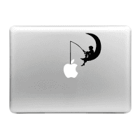 Sticker Autocollant Pêcheur pour MacBook | Sticker d'ordinateur portable pour MacBook Air, Pro, 11