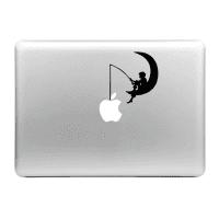 Sticker MacBook Pescador Calcomanía Vinilo | Sticker Portátil para MacBook Air, Pro, 11