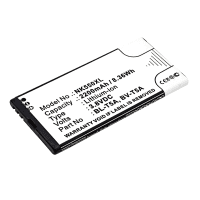 Battery for Nokia / Microsoft Lumia 550 / 730 / 735 - BV-T5A, BL-T5A (1800mAh) Replacement battery