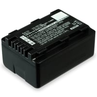 Battery for Panasonic HC-V777 V727 V100 HC-VX878 HDC-SD90 -SD40 -SD60 HDC-SDX1 HDC-HS60 HDC-TM60 SDR-H85 SDR-S50 -S70 - VW-BC10, VW-VBK180,-VBK360,VW-VBL090 (1500mAh) Replacement battery
