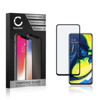 Protection d'écran en verre Samsung Galaxy A80 (SM-A805F) (3D Full Cover, 9H, 0,33mm, Full Glue) Verre trempé