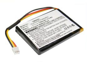 Batterij voor TomTom ONE V1, One 1st Edition, ONE Europe, ONE Regional - F54629631,GLASGOW (1350mAh) vervangende accu