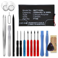 Battery for Motorola Moto E2 / Moto E 2. Generation - FT40 (2200mAh) + Tool-kit, Replacement battery
