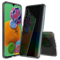 Back Cover for Samsung Galaxy A90 5G (SM-A908) - Silicone, Crystal Clear Case