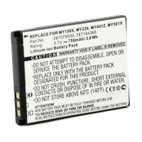 Battery for Sagem my220X / my150X / my411X / my501c / my511X / Vodafone 553 / 226 / 527 - (750mAh) Replacement battery