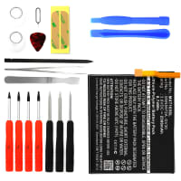 Battery for Motorola Moto Z incl. Tool-kit - GV30, SNN5972A (2300mAh) Replacement battery