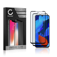 2x Protection d'écran en verre Huawei Nova 5 (3D Case-friendly, 9H, 0,33mm, Full Glue) Verre trempé
