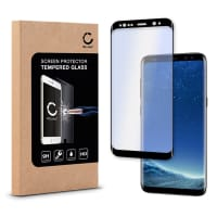 Cristal protector de la pantalla para Samsung Galaxy S8 (SM-G950 / SM-G950F) - Tempered Glass (Calidad HD / 3D Full Cover / 0,33mm / 9H)