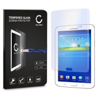 Screen protector glass for Samsung Galaxy Tab 3 7.0 (SM-T210 / SM-T211 / SM-T215) (Crystal clear)