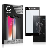 Panzerglas Sony Xperia XZ1 (3D Full Cover, 9H, 0,33mm, Edge Glue) Displayschutz Tempered Glass