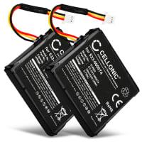 2x Batterie pour Logitech F540 Logitech G930 - Logitech 533-000074 (700mAh) Batterie de remplacement