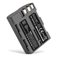 Kamera Batteri til Nikon D50 D70s D80 D90 D200 D300 D300S - EN-EL3 EN-EL3e 1600mAh Udskiftsningsbatteri til kamera