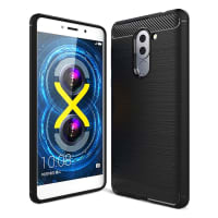 Back Cover for Huawei Honor 6X - TPU, black Case