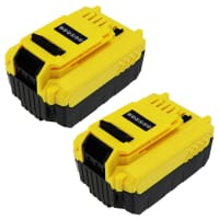 2x Batteri 18V, 5Ah, Li-Ion til Stanley FMC625D2 FMC645D2 FMC675B FMC675B-XE FMC688L FMC698B - FMC687L udskiftsningsbatteri
