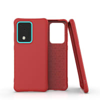Backcover for Samsung Galaxy S20 Ultra (SM-G988) - Silikon, rød lomme, pocket, shell, skal