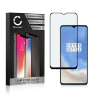 Panzerglas OnePlus 7T (3D Case-friendly, 9H, 0,33mm, Full Glue) Displayschutz Tempered Glass