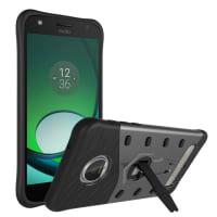 Back Cover voor Motorola Moto Z Play - TPU, zwart Tasje Zakje Hoesje