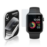 Protection d'écran en verre Apple Watch 1 / 2 / 3 - 42mm (2.5D, 9H, 0,33mm, Full Glue) Verre trempé