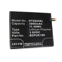 Battery for HTC Desire 825 - B2PUK100, 35H00258-03M (3000mAh) Replacement battery