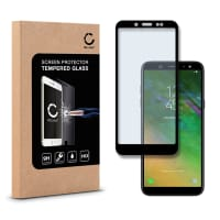 Cristal protector de la pantalla para Samsung Galaxy A6 - Tempered Glass (Calidad HD / 2.5D / 0,33mm / 9H)