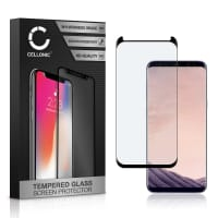 Screen protector glass Samsung Galaxy S8 Plus (SM-G955 / SM-G955F) (3D Case-friendly, 9H, 0,33mm, Full Glue) Tempered Glass