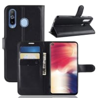 Case for Samsung Galaxy A8 (2018 - SM-A530) - PU Leather, Black Case