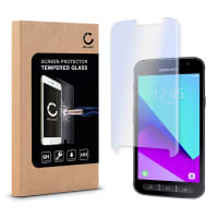 Screen protector glass for Samsung Galaxy XCover 4 (SM-G390 / SM-G390F) - Tempered Glass (HD-Quality / 2.5D / 0,33mm / 9H)