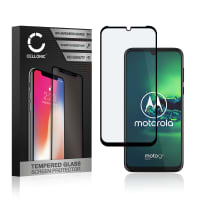 Protection d'écran en verre Motorola Moto G8 (3D Full Cover, 9H, 0,33mm, Full Glue) Verre trempé
