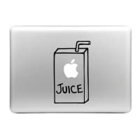 Sticker MacBook Jugo Apple Calcomanía Vinilo | Sticker Portátil para MacBook Air, Pro, 11