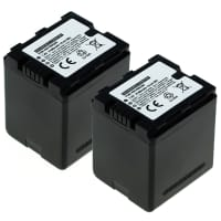2x Battery for Panasonic HC-X800,-X810, HC-X900, -X909, HC-X910, HC-X920, -X929, HDC-HS900, HDC-SD800, HDC-SD900, -SD909, HDC-TM900 - VW-VBN130,VW-VBN260,VW-VBN390 (2200mAh) Replacement battery