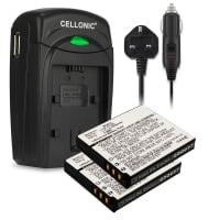 Battery for Panasonic SDR-SW20, -SW21, SDR-S7, S26, HM-TA1, Panasonic Lumix DMC-FS3, -FS5, Lumix DMC-FX30, -FX35, -FX37, -FX38, DMC-FX520 - CGA-S008,DMW-BCE10,VW-VBJ10 (1050mAh) Replacement battery