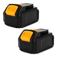 2x Battery 14.4V, 4Ah, Li-Ion for Dewalt DCD720 DCD730 DCD735 DCD931 DCD936 DCL030 - DCB140, DCB141, DCB142 replacement battery