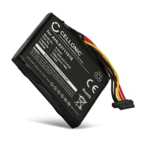 GPS accu voor TomTom GO 1000 1005 GO 2405M 2405T GO Live 1000 Live 1005 Live 2050 Live 14644 - AHL03711018 VF1C 4CQ02 1000mAh vervangende batterij